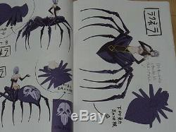 Monster Musume no Iru Nichijou Animation Setting Art Book vol. 1-3 complete set