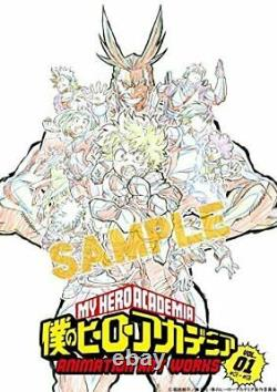 My Hero Academia Animation Art Works Book vol 1 & 2 Set Anime Picture Collection