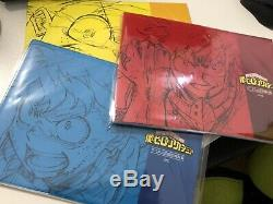 My Hero Academia Animation Art Works book 1 2 3 set boku no anime manga
