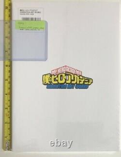 My Hero Academia Animation Art Works book 3 set vol 1 2 & 2020 fes limited 4th