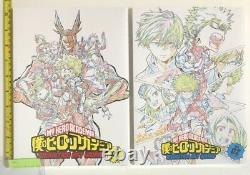 My Hero Academia Animation Art Works book full 6 set 2020 fes limited 4th anime