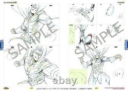 My hero academia the movie two hero animation art works 2 book set action chara