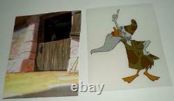 N. MINT DISNEY1960'sLUDWIG VON DRAKEPRODUCTION ANIMATION ART CEL SET-LG. IMAGE