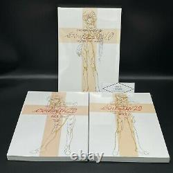 NEW Groundwork of Evangelion 1.0 2.0 3.0 Animation art book Set of 5 EVA SEALED