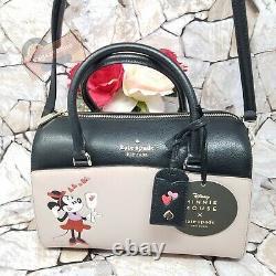 NWT Disney x Kate Spade Minnie Mouse Medium Duffle Continental Wallet Set