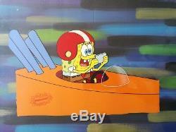 Nickelodeon SpongeBob Original Animation Art Key Master Background Cel Set Up#7