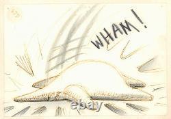 Nightmare Before Christmas Storyboard Art 2pc SET Jack clubs Oogie Boogie 1993