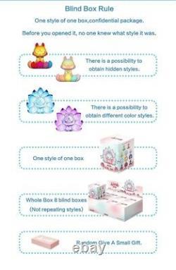 Nine Tailed Fox Fairy Series Blind Box Cute Art Toy Figure Doll 1pc or SET
