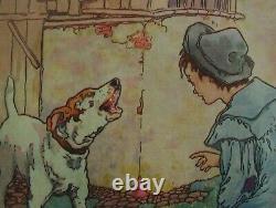 Nursery Pictures Framed Set Of 6 Nursery Rhymes Theme
