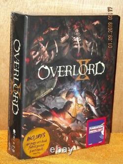 Overlord Season 2 (Blu-ray/DVD, 2018, 4-Disc Set LIMITED EDITION) NEW anime