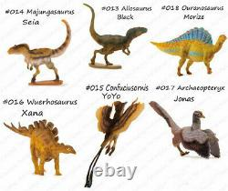 PNSO rare kinder 24 Dinosaurs Set Figure kids education museum model Collect Art