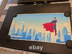 Phantom City Creative Superman The Animated Series Mondo Print Set 36x18