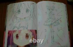 Puella Magi Madoka Magica ART BOOK KEY ANIMATION NOTE 6 books Set