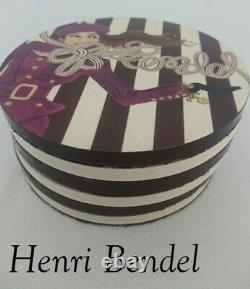 Rare Henri Bendel New York Coaster Set of 6 Zenou Café Party Girl Whippet