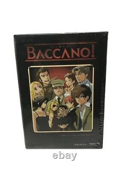 Rare New Baccano! Vol 1 With Dvd Set Art Box (Dvd, 2009) FN-09621 Funimation