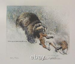Robert BATEMAN Wolverine 2 Print Limited Edition art set original Hand Colored