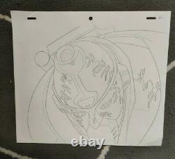 SET9 Jojo's Bizarre Adventure Anime Genga for Cel Animation x4 Art Star Platinum