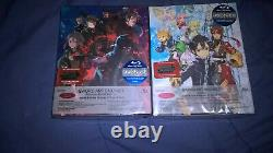 SWORD ART ONLINE II Volume 2 and 3 Limited Edition Blu Ray sets Aniplex New