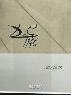 Salvador Dali Walt Disney Destino Serigraph matched set of 7