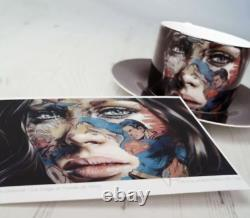 Sandra Chevrier Limited Edition Signed Mini Print & China Set SOLD OUT La Cage