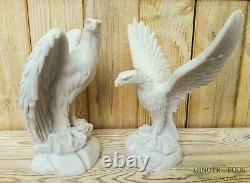 Set of Eagles /Eagle bird of prey Eagle Sculpture, Eagle figure
