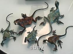 Set of Five MICHAEL STOREY Bronzes