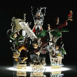 Square Enix Kingdom Hearts Formation Arts Figure Part 2 FULL SET of 6 Color Ver