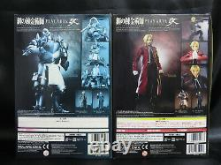 Square Enix Play Arts Kai Fullmetal Alchemist Edward Elric Alphonse Elric set