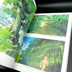 Studio Ghibli Kazuo Oga Animation Artworks 1 & 2 & Exhibition art book set of 3