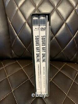 Sword Art Online Limited Edition Blu-ray Box Set II Aniplex Complete Rare OOP