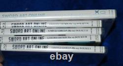 Sword Art Online Sets 1,2,3,4 BLU-RAY & Extra Edition OVA DVD Anime Bundle