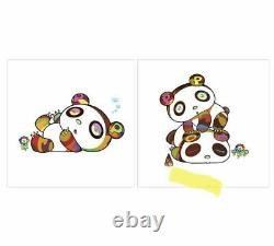 TAKASHI MURAKAMI Panda Hoyoyo Suyasuy + Sleepy and Sleepy 2set ED100 Autographed