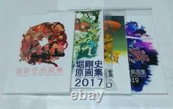 Takafumi Hori Genga Art Book Comic Market Key Animation Samurai Champloo Set