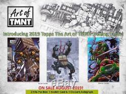 Topps 2019 Art of TMNT Teenage Mutant Ninja Turtles Sealed Trading Card Set Box