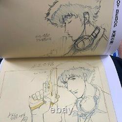 Toshihiro Kawamoto Animation Art Book Special Set Cowboy Bebop Battlefront Japan