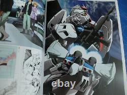 Toshihiro Kawamoto Autographed ANIMATION ARTWORK BOOK 3 sets 2006-2020 Gundam