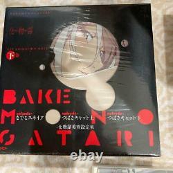 Used BAKEMONOGATARI Key Animation Note Art Book Prologue Vol 1 & 2 Set Anime
