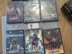 Used Jojo bizarre adventure. Super techno arts dvd box set complete. US Buyer