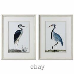 Uttermost Grace Feyock 2 Piece Shore Birds Framed Print Set