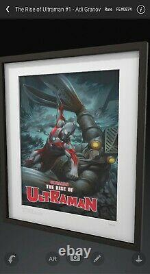 VeVe NFT The Rise Of Ultraman Series 1 FULL SET 6 of 6 2D Artwork