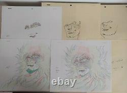 Violence Jack Anime Manga Genga Cel Artwork set4 1988 Go Nagai RARE