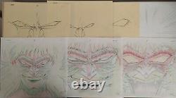 Violence Jack Anime Manga Genga Cel Artwork set5 1988 Go Nagai RARE