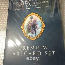 Violet Evergarden The Movie Premium Art Card Set Kyoto Animation