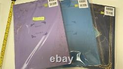 Violet evergarden story board 1 2 & movie 3 set kyoto animation art book anime