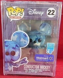 Walmart art series mickey funko set (nib)Set includes conductor mickey # 22