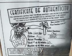 Widow(Eds')& artist COOP sigsROTH 1970 ws decal Van art set numbered & COA