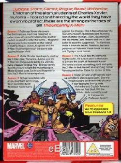 XMEN The Animated Series ULTIMATE COLL Complete Season 1-5 Art Card DVD Box Set