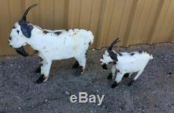 Yard Art Metal Goat Sculpture Goat Animal Decor